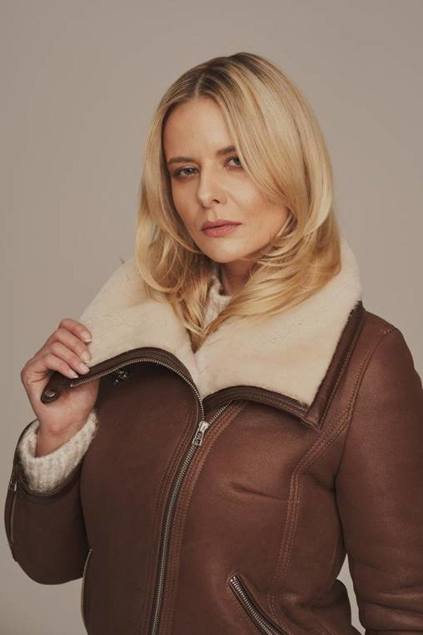 Letecká bunda dámská - Zimní kabátek dámský