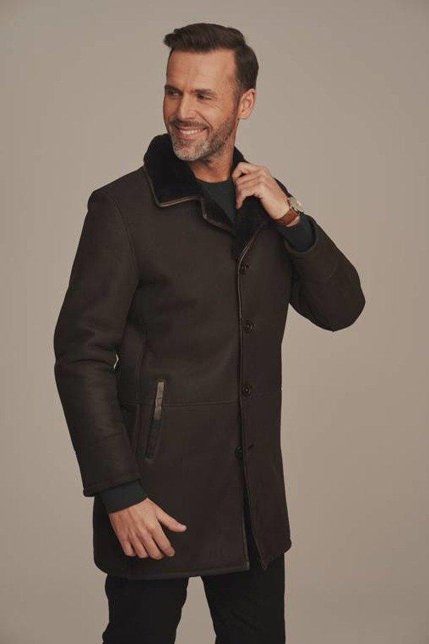 Pánský kožešinový kabát - Pravý kožich