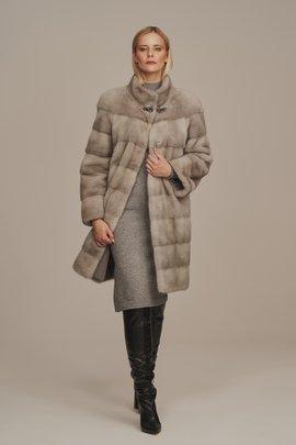 Real mink coat