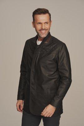 Men's soft leather jacket