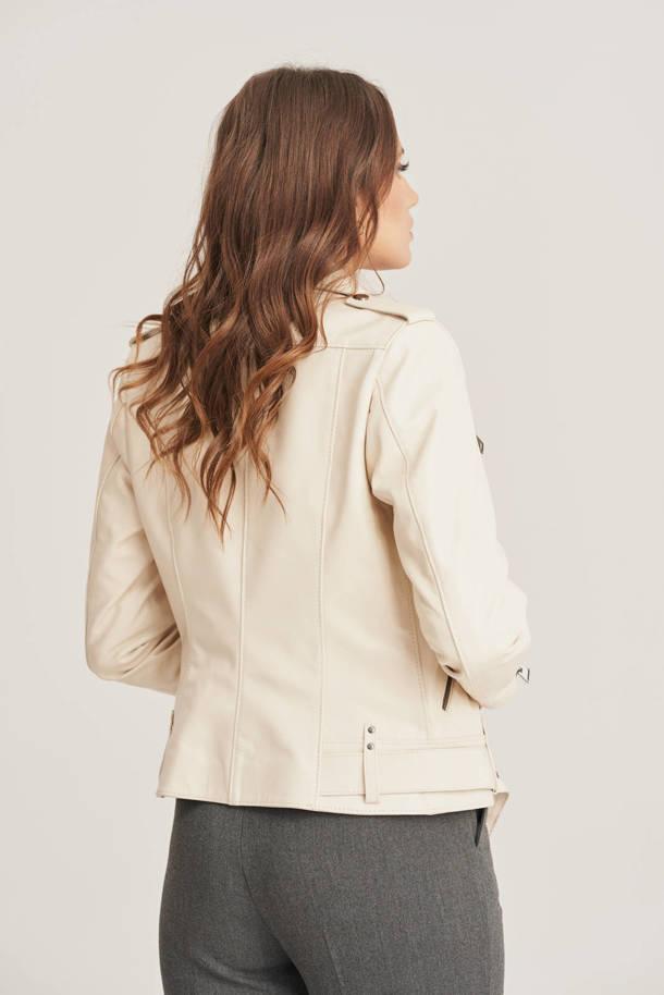 Dámska kožená bunda